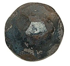 Decorative Carriage Bolt HCB-08 Shown w/ Hammered Texture
