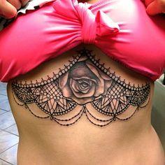 Tattoo Ideas, Boobs Tattoo, Art Work, Tattoo Under Boobs Sternum, Tattoo Inspiration, Under Boob Tattoo, Sternum Tattoo, Body Art, Tattoos Piercing