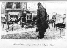 Les Miserables Gallery - Javert behind Mayor's chair - Book 1