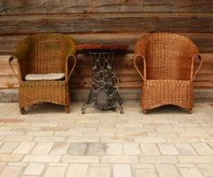 how to clean outdoor furniture, specifically mildew from fabric. good to know for our outdoor pillows.