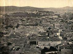 1857-Beyazıt Kulesi'nden genel görünüm