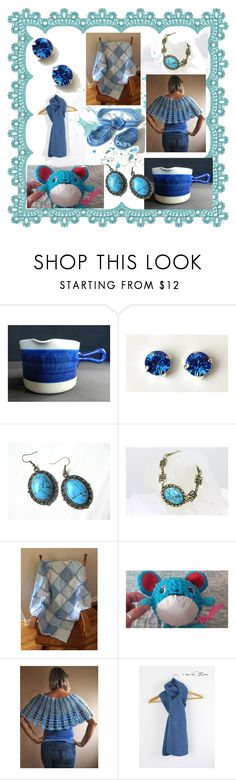 """""""Blue, but so different."""" by lwitsa62 ❤ liked on Polyvore featuring interior, interiors, interior design, home, home decor, interior decorating, KOKA and vintage"""