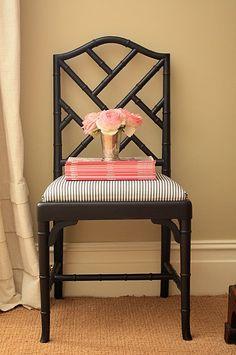 bamboo chairs.
