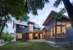 Urban Farmhouse in Seattle by Denny & Svetlik Architects sustainable architecture