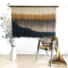 "Large Tapestry ""Modern Haze"" Series 1 Signature Collection — Lauren Williams Art + Home Modern Tapestries, Large Tapestries, Pop Art, Diy Wall Decor, Home Decor, Wall Tapestry, Tapestry Weaving, Signature Collection, Modern Wall Art"