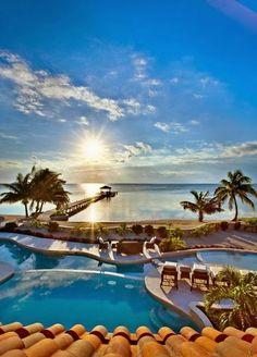 Beach at Sunrise, Jamaica