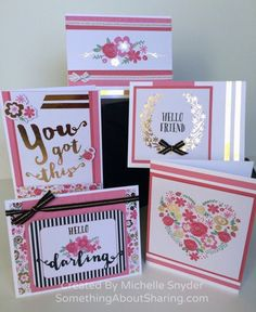 Picture My Life Cards - perfect for scrapbookers and card makers!! Order yours today at www.denise.ctmh.com