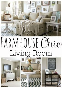 Grace Lee Cottage: Our Living Room
