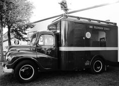 BBC outside broadcast van, one of the many heritage vehicles at Goodwood Revival 2015 ©Come Step Back In Time. Back In Time, Back In The Day, British Broadcasting Corporation, Vintage Television, Goodwood Revival, Vintage Tv, Classic Trucks, Tv On The Radio, Old Trucks