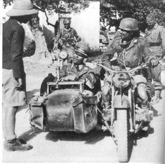 """Fallschirmjäger BMW """"Sahara""""- pin by Paolo Marzioli German Army, North Africa, Vintage Photography, World War Two, Bmx, Military Vehicles, Wwii, Classic Cars, History"""