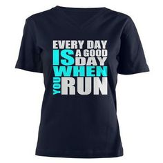 Every Day Is A Good Day When You Run T-Shirt > #running #motivation #pinoftheday