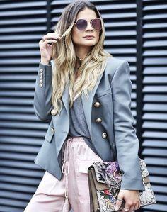 Gucci, roze, grey perfect combination
