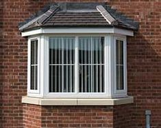 bay and bow window components quanex building products additional images Front Windows, Windows And Doors, Bay Windows, Exterior Windows, Coloured Upvc Windows, Bay Window Design, Front Stairs, Window Glazing, Door Design Interior