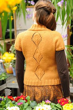 Leaflet cardigan: Knitty First Fall 2011