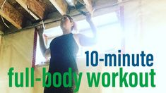 10-minute full-body couplet workout. Minimal equipment, do anywhere.  #trx #fullbody #workout #minimalequipment #doanywhere #homeworkout #athome #couplet
