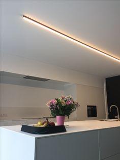NINZA   DARK #lighting #profile #fixture #led #architecturallighting #darlings #design #dark #interiordesign #homestyle #kitchendesign #OH20 #project #ieper #ninza dark.be