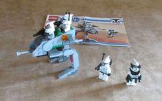 8014 Lego Star Wars The Clone Wars Clone Walker Battle Pack complete minifigs #LEGO