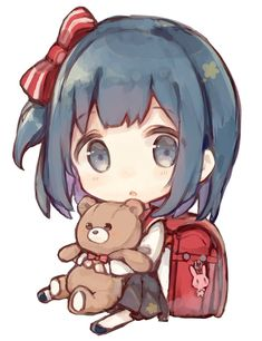 Dibujos Anime Chibi, Cute Anime Chibi, Anime Girl Cute, Kawaii Chibi, Kawaii Anime Girl, Kawaii Art, Anime Art Girl, Chibi Sketch, Girly Drawings