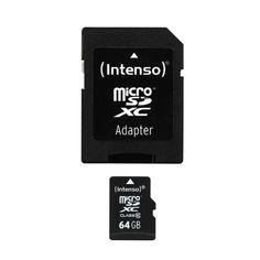 Intenso Micro SDXC 64GB Class 10 Speicherkarte inkl. SD-Adapter - http://kameras-kaufen.de/intenso/intenso-micro-sdxc-64gb-class-10-speicherkarte-sd