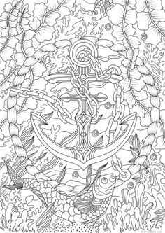 390 Best Under The Sea Coloring Pages For Adults Images Coloring