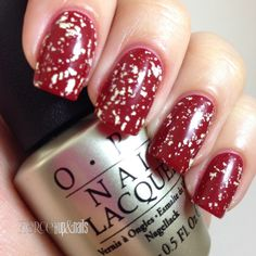 Fierce Makeup and Nails: OPI: Mariah Carey Pure 18K White Gold and Silver Top Coat. @OPI Products, Inc.