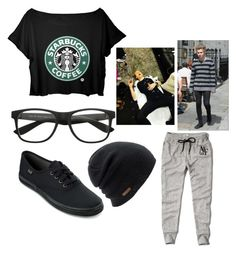"""""""Leisuring with Luke"""" by prettyin-punk ❤ liked on Polyvore featuring Keds, Coal and Abercrombie & Fitch"""