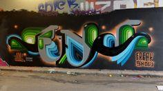 Graffiti & Street-art since 1999 Graffiti Murals, Street Art Graffiti, Mural Art, Reverse Graffiti, Abstract City, Wild Style, Visionary Art, Street Signs, Land Art