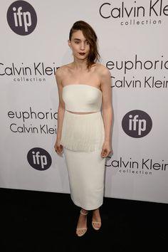 Rooney Mara in head to toe custom Calvin Klein at the Cannes Film Festival Calvin Klein Party.