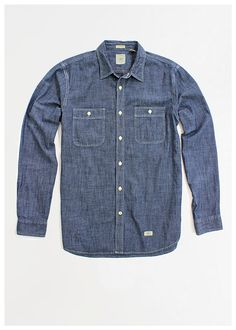 Denim Shirt Dockers #shirt #formen #mensfashion #menswear #musthave #perfect #christmas #gift #giftguide #denim #denimshirt