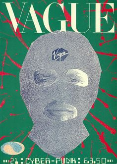 1988 copy of VAGUE magazine (Jamie Reid front and back cover art) Les Aliens, Punk Poster, Creation Art, Art Graphique, Grafik Design, Magazine Design, Cyberpunk, Collage Art, Cover Art