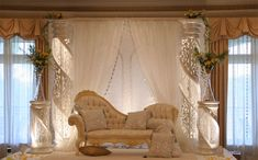 Blend antiques with modern accents to get a romantic feel