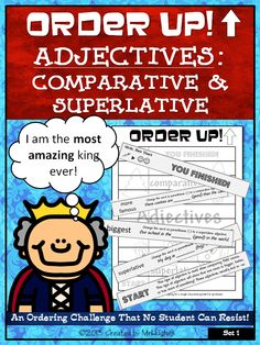 ... er, -est, irregular adjective forms (like best to better) and adding