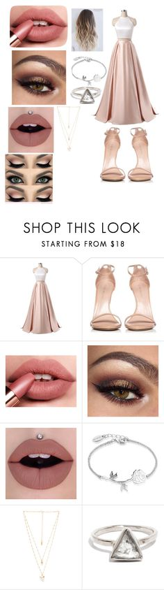 """Prom dress #1"" by jno712 ❤ liked on Polyvore featuring Stuart Weitzman, Disney and Natalie B"