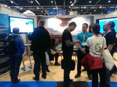 Our lovely-lively booth at Cloud Expo Europe 2014