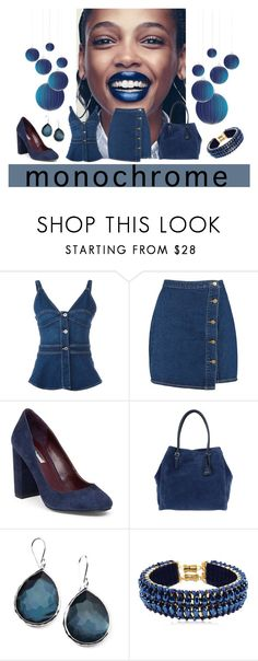 """""""Monochrome"""" by lovetodrinktea ❤ liked on Polyvore featuring STELLA McCARTNEY, Boohoo, BCBGMAXAZRIA, Abro, Ippolita, Only Child and monochrome"""