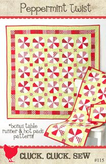 Cluck Cluck Sew Peppermint Twist - Downloadable Pattern