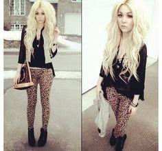 leopard pant