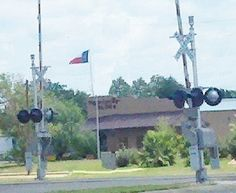 Flag Across The Tracks Kingsville TX