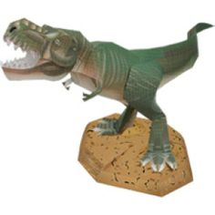 Tyrannosaurus rex - Dinosaurs - Science - Paper Craft - Canon CREATIVE PARK