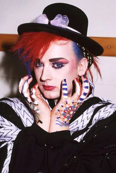 """Boy George"" You are definitely @WesternUniverse #EuropeanFashion #NewRomantic #WesternUniverse #albpinczo"