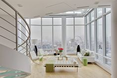 White Leather Barcelona Chair Design, Pictures, Remodel, Decor and Ideas