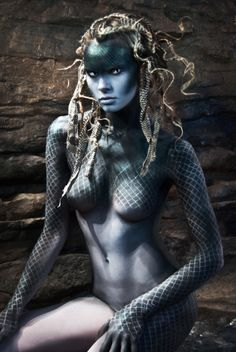 Gorgon woman that is in the contest.