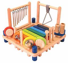 A lovely wooden music set to help my future little ones with their hand eye coordination and fine motor skills. Noisy, i know. But SO fun!