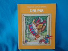 vintage 1986 Drums  Houghton Mifflin level C Reading book by TheVintageKeepers on Etsy