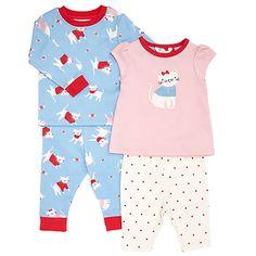 Baby Cat Print Pyjamas http://www.parentideal.co.uk/john-lewis--baby-toddler-pyjamas-nightwear.html
