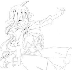 Muhai no Monogatari 無敗の物語: Fairy Tail Zero - OP - Ashita wo Narase - By Kavka. Coloring Sheets, Adult Coloring, Coloring Books, Coloring Pages, Colouring, Manga Art, Anime Art, Lineart Anime, Fairy Tail Drawing