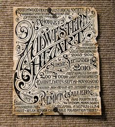 "Aaron Horkey – ""Midwestern Heart"" @ Remick Gallery"