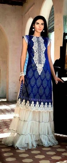 dress by gul ahmed
