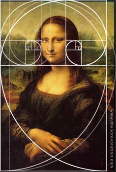mona lisa and fibonacci sequence - Google Search