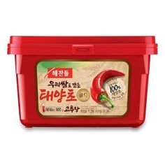 CJ Haechandle Korean Chili Pepper Paste Gochujang, 17.63-Ounce Containers (Pack of 5) by CJ -- Awesome products selected by Anna Churchill
